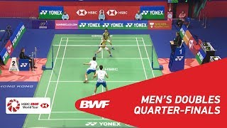 Video QF | MD | GIDEON/SUKAMULJO  (INA) [1] vs KIM/LEE (KOR) | BWF 2018 MP3, 3GP, MP4, WEBM, AVI, FLV November 2018