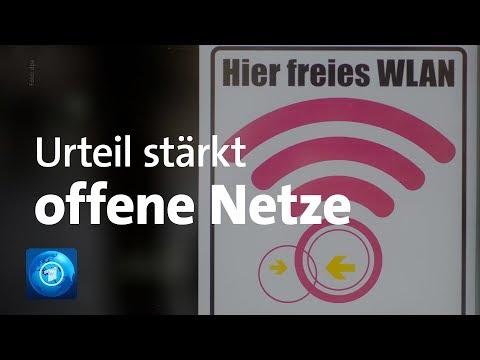 """Urteil stärkt offene WLAN-Netze: Endgültiges Aus für """"Störerhaftung"""""""