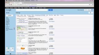 #6 [클라우드 오피스] 지메일 활용법 강좌 (영문) - Gmail Labs (Part 6)