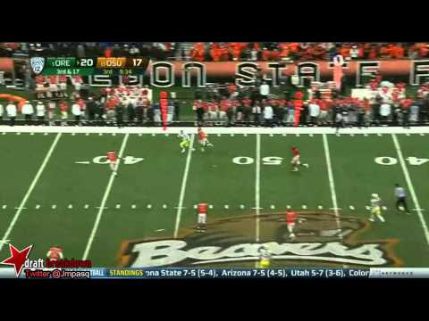 Marcus Mariota vs Oregon State 2012 video.