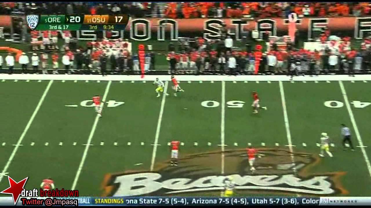 Marcus Mariota vs Oregon State (2012)