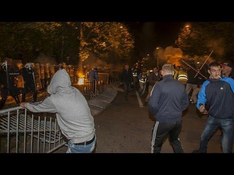 Μαυροβούνιο: Σφοδρές συγκρούσεις αστυνομίας και διαδηλωτών