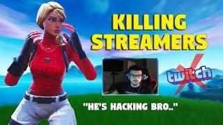 Killing Twitch Streamers #2 - Fortnite Battle Royale (Kodak Black & Kevin Gates)