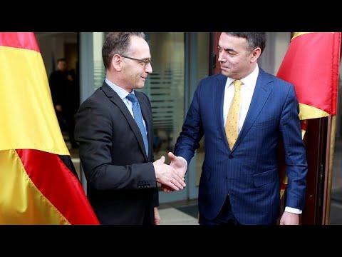 Χάικο Μάας: «Η ΕΕ να ανοίξει την πόρτα της στη Βόρεια Μακεδονία»…