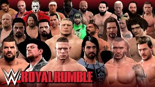 Nonton Wwe 2k17   Epic Royal Rumble With 15  Surprise Omg Returns   30 Man Rumble  Film Subtitle Indonesia Streaming Movie Download