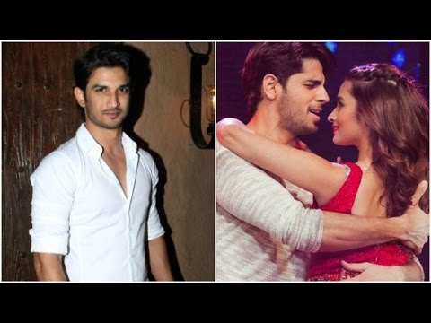 Sushant Says He Doesn't Compete With Anyone | Alia
