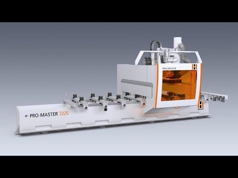 Holz Her ProMaster Vario Robotic Loading Unloading