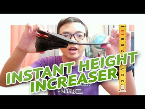 INSTANT PAMPATANGKAD! IS IT WORTH IT? 👞  #ShortGuysProblem | Insoles Height Increaser Review