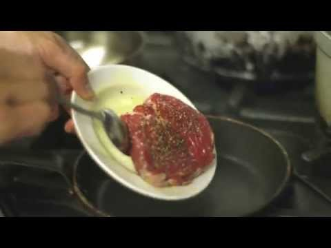 Rib-eye of Beef with Asian Beef broth by Mark Sargeant