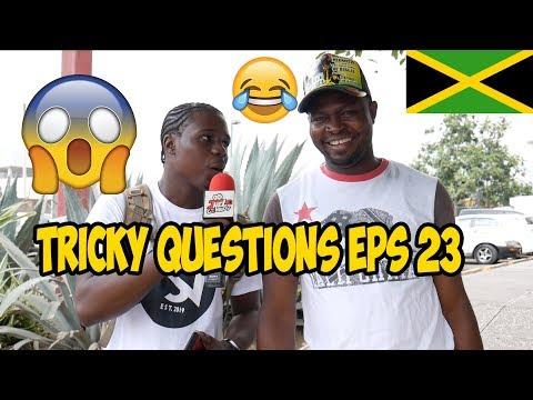Trick Questions In Jamaica Episode 23 [Savanna la Mar DownTown Kingston]