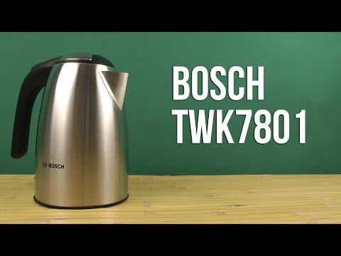 Распаковка BOSCH TWK7801