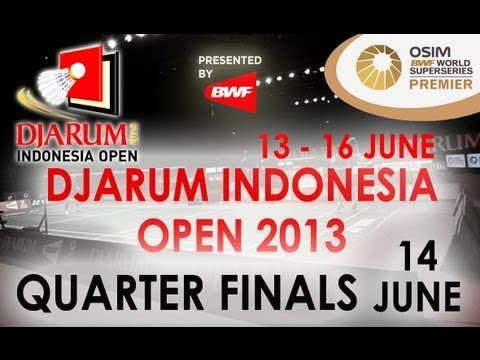 QF – MS – Lee Chong Wei vs Boonsak Ponsana – 2013 Djarum Indonesia Open