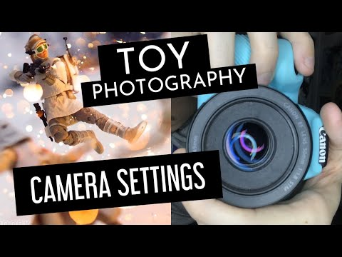 Toy Photography: Camera Settings Tutorial
