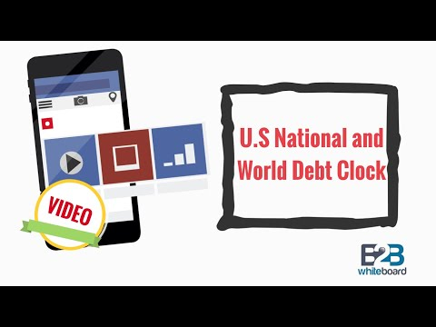 U.S National and World Debt Clock