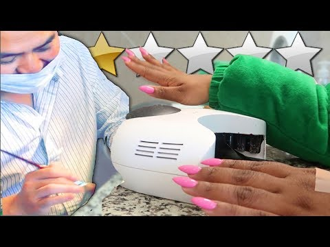 Hair salon - GETTING MY NAILS DONE AT LOW REVIEWED NAIL SALON! PLOT TWIST