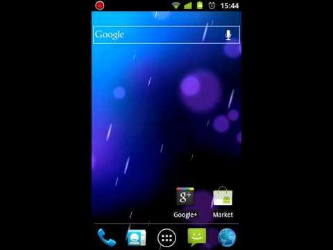 Video of ICS Phase Beam Live Wallpaper
