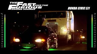 Nonton The Fast And The Furious  Engine Sounds   Honda Civic Film Subtitle Indonesia Streaming Movie Download
