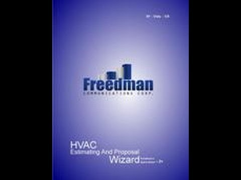 HVAC Contractor Estimating Software & Sales Consulting For In-Home Presentations