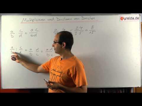 Multiplikation und Division von Brüchen