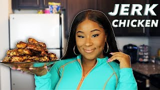 HOW TO MAKE JERK CHICKEN WINGS AT HOME!