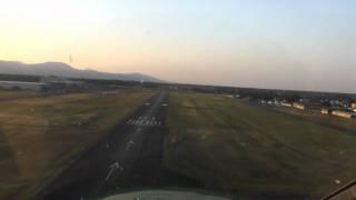 Houssen France  city photos gallery : Landing at LFGA Colmar-Houssen Airport (Alsace, France)