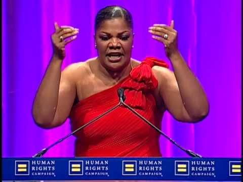 Mo'nique at the 2010 HRC National Dinner