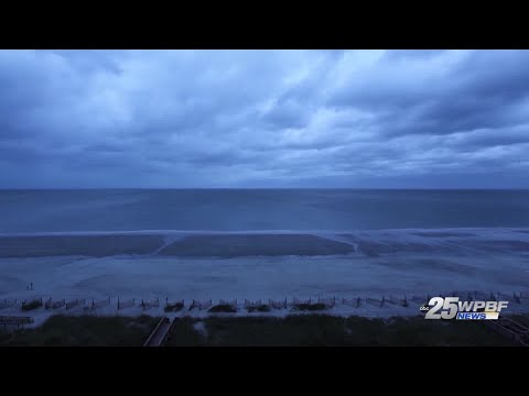 Time-lapse of Hurricane Florence