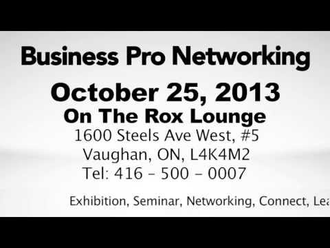 Business Pro Networking October 25th 2013