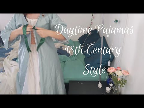 #YesterdaysPajamas : Sewing an 18th century banyan + loungewear