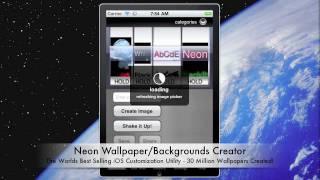 Neon Custom Wallpaper Maker YouTube video