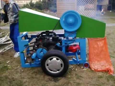 Rębak spalinowy silnik malucha - wersja pierwsza