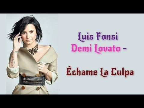 Video Luis Fonsi, Demi Lovato - Échame La Culpa (Lyrics / Letra Video) | Official / Original | HD | 2017 | download in MP3, 3GP, MP4, WEBM, AVI, FLV January 2017