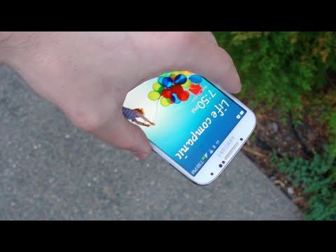 Samsung Galaxy Drop - The Samsung Galaxy S4 Drop Test is finally here! Find out how well the new Gorilla Glass 3 stands! LIKE MY FACEBOOK:https://www.facebook.com/pages/TechRax/19...