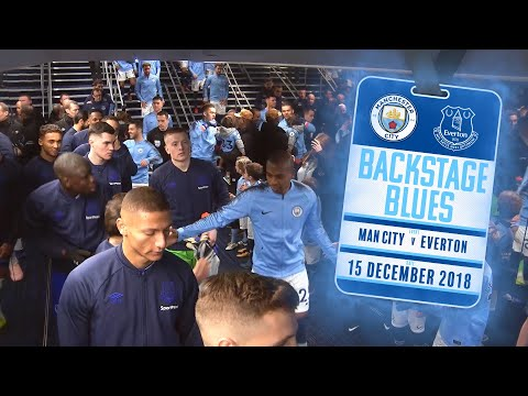 Video: BEHIND THE SCENES AT THE ETIHAD | BACKSTAGE BLUES: MAN CITY V EVERTON