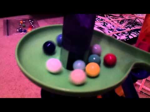 Marble Race 18 w/ all Solid Colored Marbles
