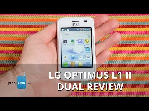 LG Optimus L1 II Dual Review