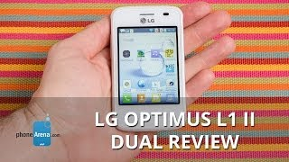 LG Optimus L1 II Dual Review