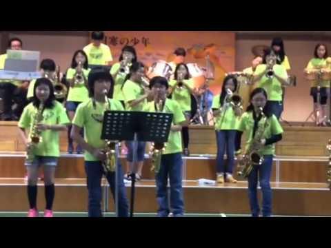 第29回親子ふれあいコンサート 南月寒小学校BigBand