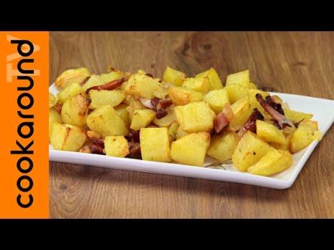 patate al forno con speck!