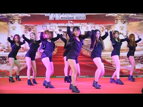 160821 Helena cover Nine Muses - News @ The Paseo Cover Dance 2016 (Audition)