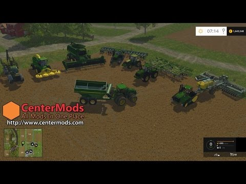 John Deere Mega Pack for FS15 V1.0