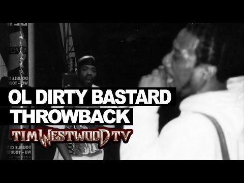 OL DIRTY BASTARD FREESTYLE (RARE NEVER HEARD BEFORE! THROWBACK 1995) @TimWestwood