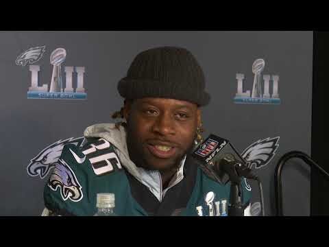 Eagles Press Pass: Jay Ajayi (2/1/18) (видео)