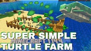 Video How to make a Turtle Farm In Minecraft 1.14.4: Very Survival Friendly Turtle Scute Farm (Avomance) MP3, 3GP, MP4, WEBM, AVI, FLV September 2019
