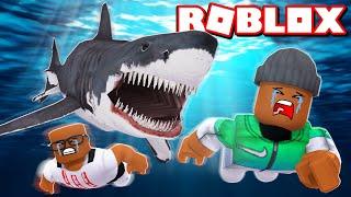 Video 2 PLAYER MEGALODON SHARK ATTACK IN ROBLOX MP3, 3GP, MP4, WEBM, AVI, FLV Agustus 2019
