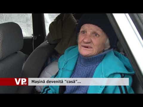 """Mașină devenită """"casă""""…"""