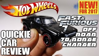 Nonton Quickie Car Review New For 2017 Hot Wheels Fast & Furious 7 Off Road 70 Dodge Charger MOPAR!!! Film Subtitle Indonesia Streaming Movie Download