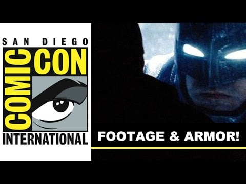 Ben - Today, a sneak peek of that Comic Con 2014 Batman vs Superman Footage and Ben Affleck's armored Batman suit! http://bit.ly/subscribeBTT Comic Con 2014 saw some footage from Batman vs Superman...