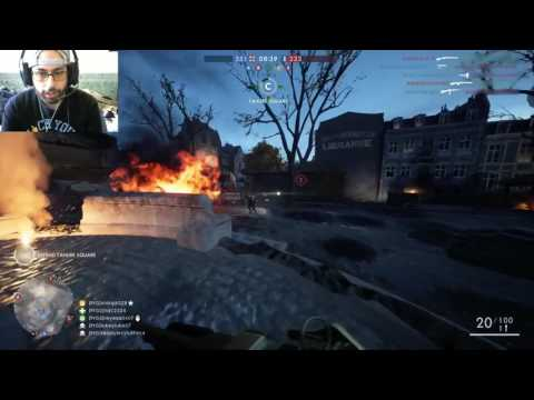 The new BF1 Night map Prise de Tahure! Amazing BAR gameplay! (67-5) Great map! (видео)