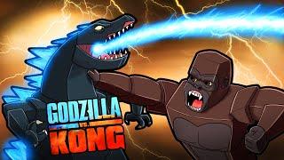 Build to Survive GODZILLA vs KING KONG! (Minecraft)